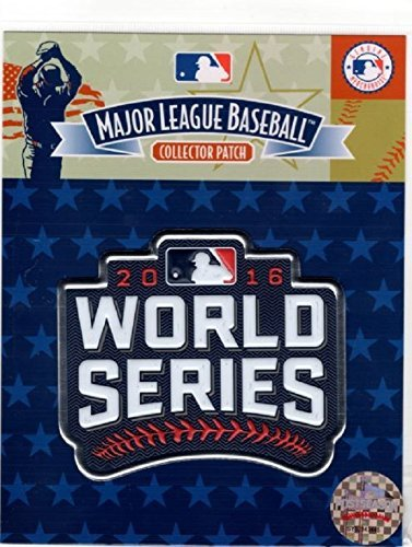 Series Emblem World Patch (2016 WORLD SERIES PATCH JERSEY EMBLEM SOURCE EMBOSSTECH (LIQUID PLASTIC) MLB)