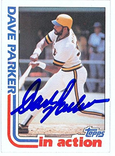 Dave Parker autographed Baseball Card (Pittsburgh Pirates) 1982 Topps #41 In Action - Autographed Baseball Cards ()