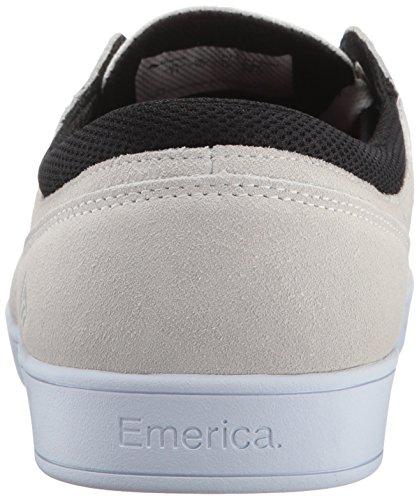 Emerica The Figueroa, Scarpe da Skateboard da Uomo White/White/Black