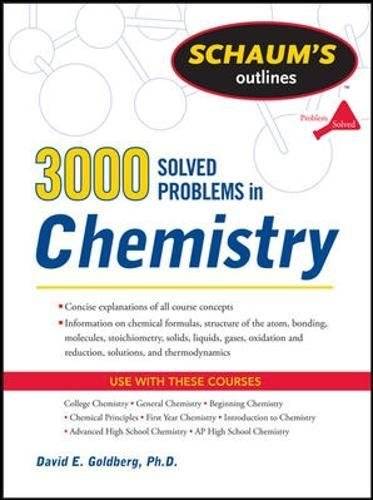 3,000 Solved Problems In Chemistry (Schaum's Outlines)