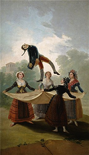 The Perfect Effect Canvas Of Oil Painting 'Goya Y Lucientes Francisco De (Belted Straw Belt)