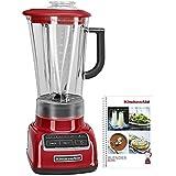 KitchenAid KSB1575CER 5-Speed Diamond Blender, Empire Red