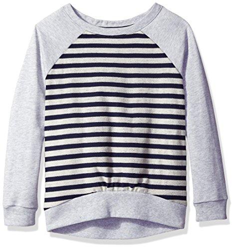 Nautica French Stripe Pullover Hi Low