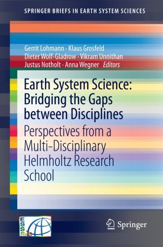 Earth System Science: Bridging the Gaps between Disciplines: Perspectives from a Multi-Disciplinary Helmholtz Research S