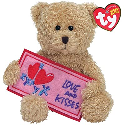 Ty Love and Kisses - Blonde Bear: Toys & Games