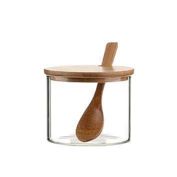 Spice Box Bulk-Gewürz Glaskasten Küche Spice Box spice Gläser ...