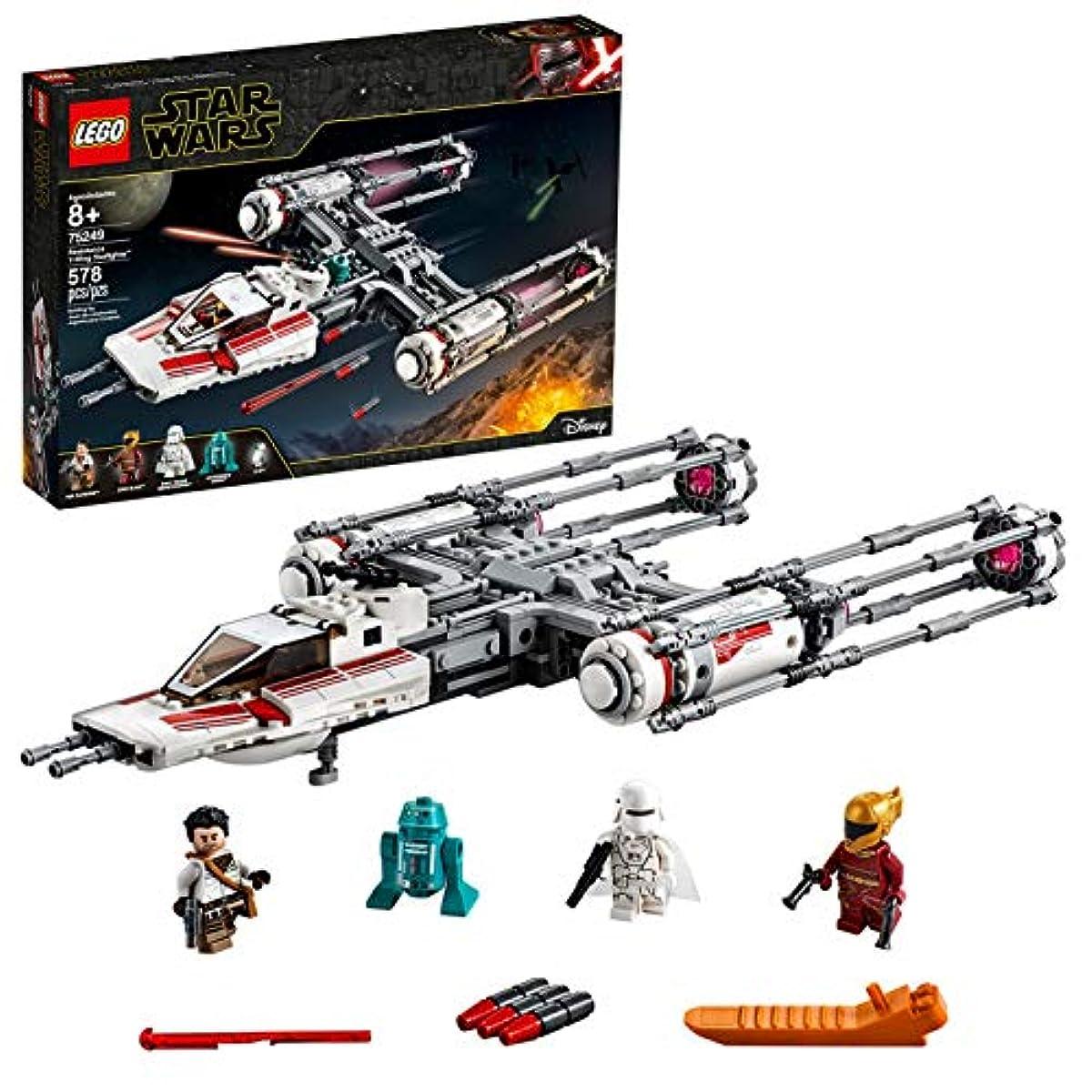 [해외] 레고(LEGO) 스타워즈 레지스탕스 Y-윙스타 파이터 75249