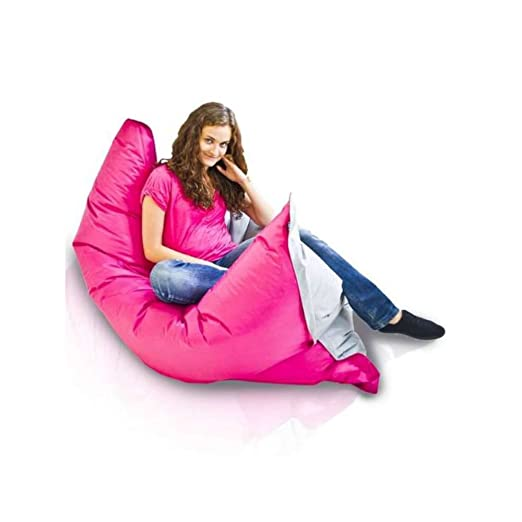 JUSTyou Pillow L Puff Cojín Gigante de Nailon Color: Rosa ...