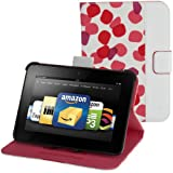 "Belkin Petals Standing Cover for Kindle Fire HD 7"", Ruby (will only fit Kindle Fire HD 7"")"