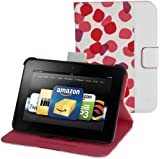 "Belkin Petals Standing Cover for Kindle Fire HD 7"" (Previous Generation), Ruby (will only fit Kindle Fire HD 7"", Previous Generation)"