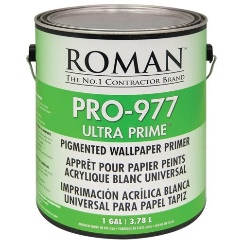 Roman 010301 PRO-977 1 gal Ultra-Prime Pigmented Wallpaper Primer by Roman