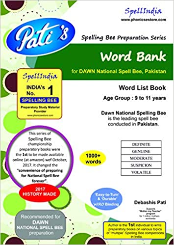 Buy Word Bank : Dawn National Spelling Bee (conducted in Pakistan