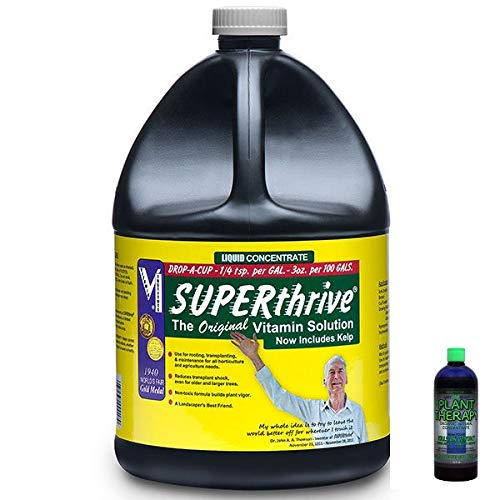 Superthrive - The Essential Vitamin Solution with 2OZ Free Sample of Lost Coast Plant Therapy Pesticide/Fungicide (Gallon)