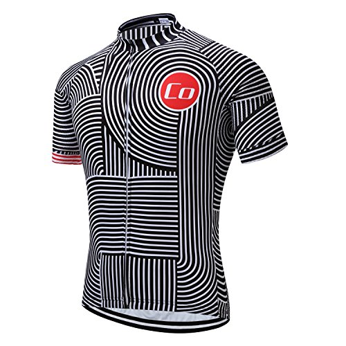 ff65540c0 Coconut Ropamo Mens Cycling Jersey Road Bike Shirt Short Sleeve Biking  Jersey Breathable 100% Polyester