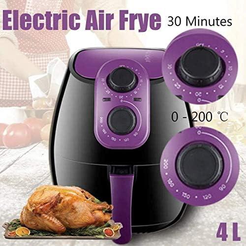 XIAOGING 4L Electric Air Fryer 0-200 □ Nee Oil Heathly Keuken Cooker 1300W Frieten