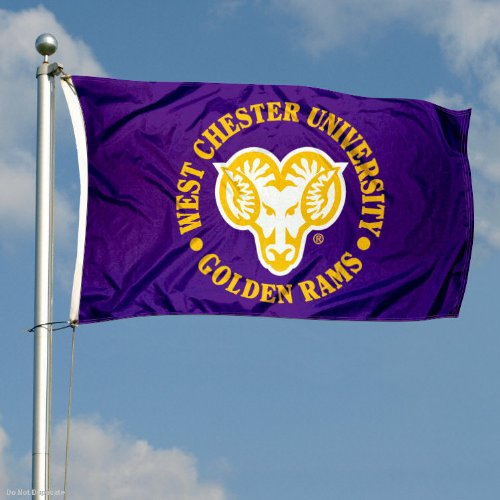 College Flags and Banners Co West Chester University Golden Rams 3x5 Flag