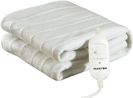 CE300 coperta//cuscino elettrico Coperta elettrica 60 W Bianco Poliestere