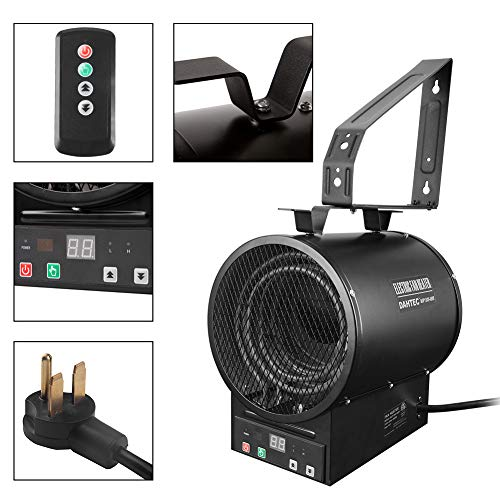 Space heater for large room with high ceilings