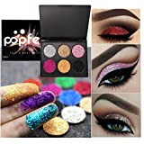 Staron Eye Shadow 6 Colors Makeup Shimmer Matte Eyeshadow Glitter Powder Palette Cosmetic Eye Glosses for Professional Makeup or Daily Use (C)