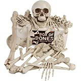 Kangaroos Box Of Bones; 30 Pc Set With Skull, Flexible Jaw, Skeleton Bones