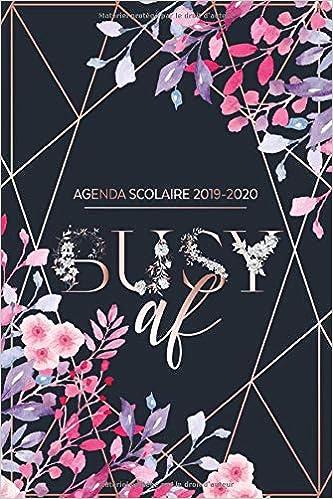 Calendrier Agenda 2020.Agenda Scolaire 2019 2020 Agenda Semainier E Calendrier