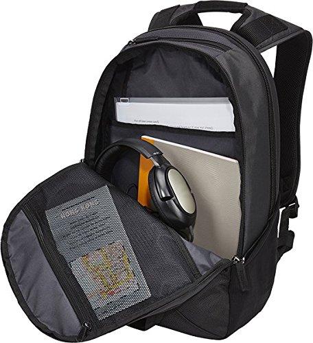 Case Logic InTransit Laptop-Rucksack für Notebooks bis 35,8 cm (14,1 Zoll) Schwarz