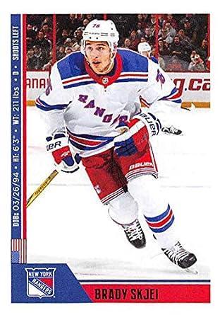 Amazon.com  2018-19 Panini NHL Stickers Hockey  161 Brady Skjei New ... 5119e4eb4