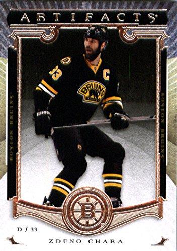 2015-16 Upper Deck Artifacts #76 Zdeno Chara Boston Bruins Hockey Card-MINT