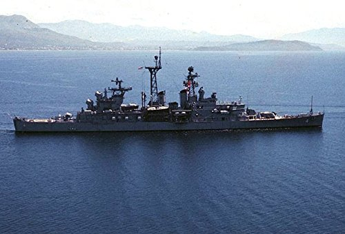 - Home Comforts Laminated Poster The U.S. Navy Guided Missile Cruiser USS Little Rock (CLG-4) in The Mediterranean Sea in 1974. Vivid Imagery Poster Print 24 x 36