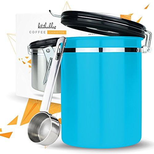 11. Kitchables Coffee Canister with AirFresh Valve Technology