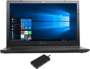 "Toshiba Dynabook Tecra A50-F Home and Entertainment Laptop (Intel i7-8565U 4-Core, 16GB RAM, 256GB m.2 SATA SSD, Intel UHD 620, 15.6"" Full HD (1920x1080), WiFi, Bluetooth, Win 10 Pro) with USB Hub"