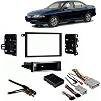 Fits Oldsmobile Intrigue 2002 Double DIN Harness Radio Install Dash Kit