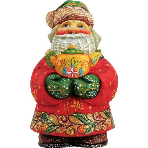 G. Debrekht Afternoon Treat Santa Figurine for sale  Delivered anywhere in USA