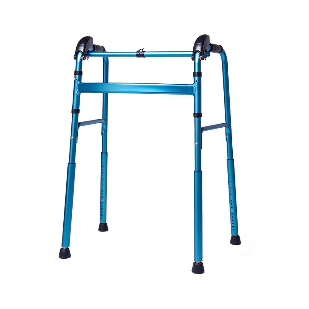 【50%OFF】 ウォーカー、高齢者支援ウォーカー、アルミニウムクライミング階段歩行者 B07GV8L857、青 アシストウォーキング B07GV8L857, MODE KAORU:7d103b0e --- a0267596.xsph.ru