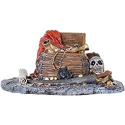 BioBubble Origins Pirate Treasure Ornament, Multicolor