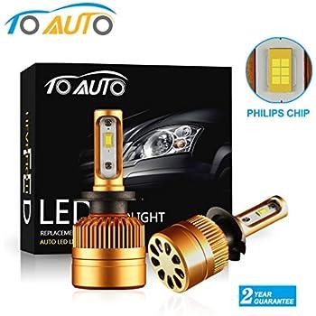 opt7 fluxbeam led headlight bulbs pair for. Black Bedroom Furniture Sets. Home Design Ideas