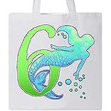 Inktastic - Sixth Birthday Mermaid Tote Bag White 2f047