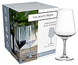 Premium Unbreakable Wine Glass Collection, 100% BPA Free Tritan Shatterproof Plastic, Dishwasher Safe, Large 22oz and Elegant Set of 4 For Sale