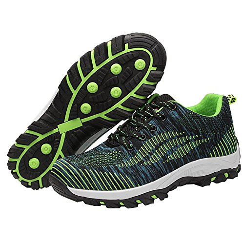 Optimal Product Women's Safety Shoes Work Shoes Protect Toe Shoes Bright Green by Optimal Product (Image #5)