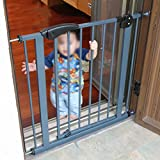 Baby Safety Gate, Pressure Mounted Easy Step Walk Thru Gate for Kids or Pets, Safe to Use, Easy to Install Without Drilling Wall (Size : 65-74cm)