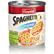 Campbell's SpaghettiOs Canned Pasta, Original, 7.5 oz. Can
