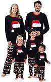 Happyjiu Christmas Holiday Family Matching Sleepwear Pajamas Set Couples Pajamas