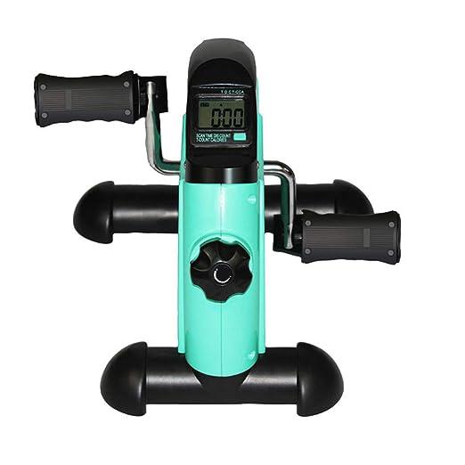 ZJDU Ejercitador De Pedal,Mini Bicicleta Estática Portátil ...