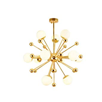 Modern Pendelleuchte Beleuchtung Style Glas Ball Kreative Luxus Hängelampe  Gold Deckenleuchte Persönlichkeit Stil Studieren Suspension Lampenschirm