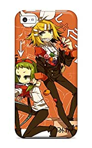 Nick Tate MREhtzQ691PLHUE Protective Case For Iphone 5c(len Kagamine Anime)