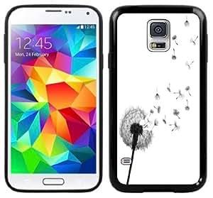 Dandelion Wishing Flower Handmade Samsung Galaxy S5 Black Case