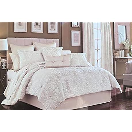 J Queen Maison King Comforter Set Ivory Cream