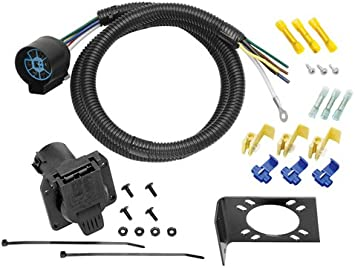 [DIAGRAM_3NM]  Amazon.com: Tow Ready 20224 7-Way Trailer Wiring Harness with Bent Pins:  Automotive | 7 Way Wire Harness |  | Amazon.com