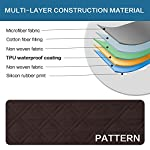 BellaHills 100% Waterproof Couch Covers for 3 Cushion Couch Soft and Smooth Quilted Furniture Sofa Covers for Living…