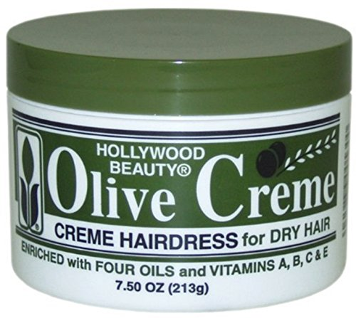 Hollywood Beauty Olive Cholesterol & Olive Creme, 7.5 oz